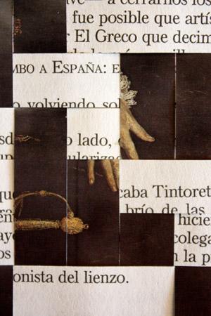 Elisa Terroba. El Greco. Serie Tapices, 2019