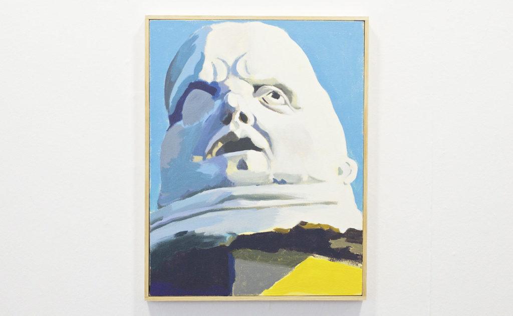 """Tomás Pizá. Panóptico de la exposición """"Three years later"""", 2015. Cortesía Galería Xavier Fiol. © Cristian Costantini"""