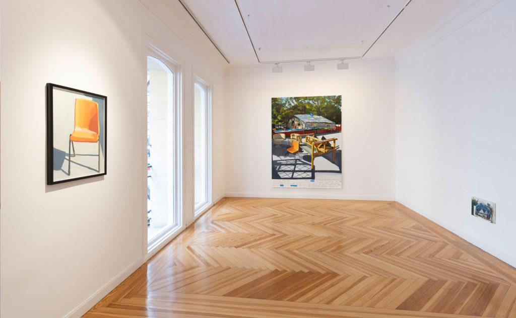 """Vista de la exposición """"Nothing but flowers"""", 2019. Cortesía Galería Herrero de Tejada. © Grimalt de Blanch"""