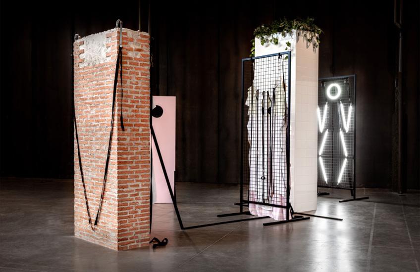 Valeria Maculan. Las Paredes son Puertas, 2019. Matadero Madrid