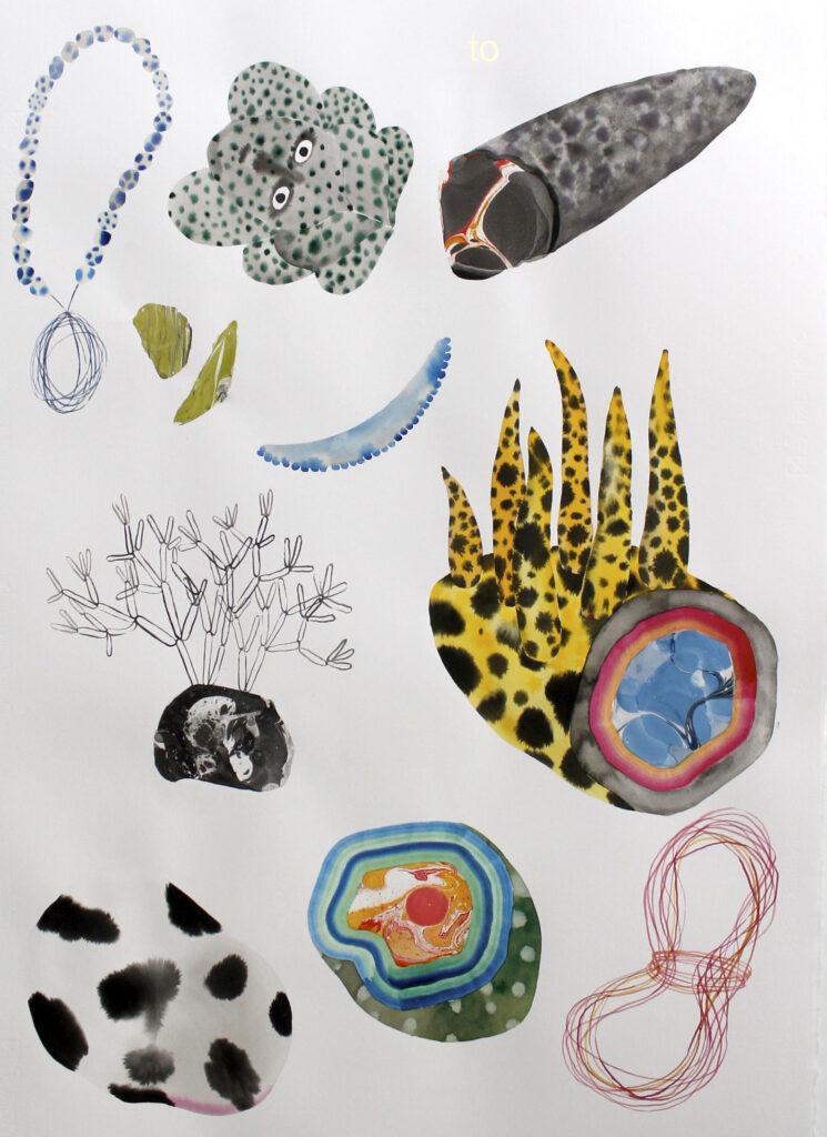 Vanessa Donoso López. Found objects on isolation #58, 2020