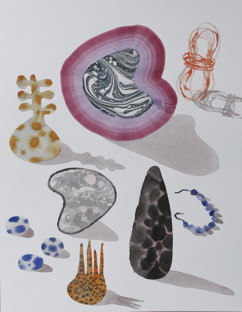 Vanessa Donoso López. Found objects on isolation #95, 2020