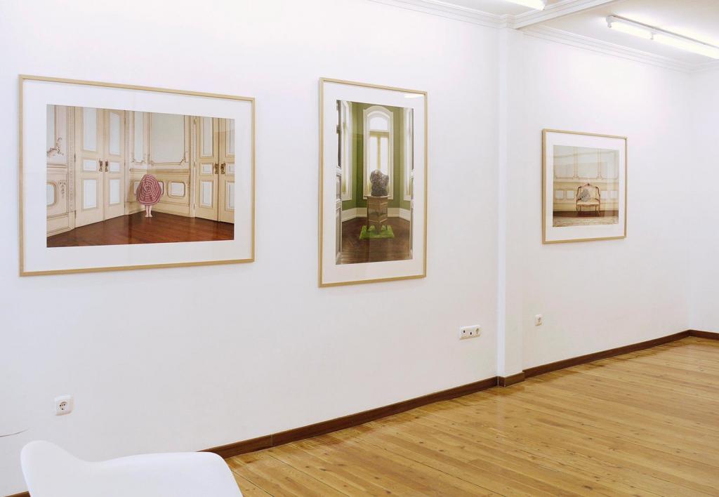 """Obras de Verónica Vicente en su exposición """"Sujeto vulnerable"""" en La Gran"""