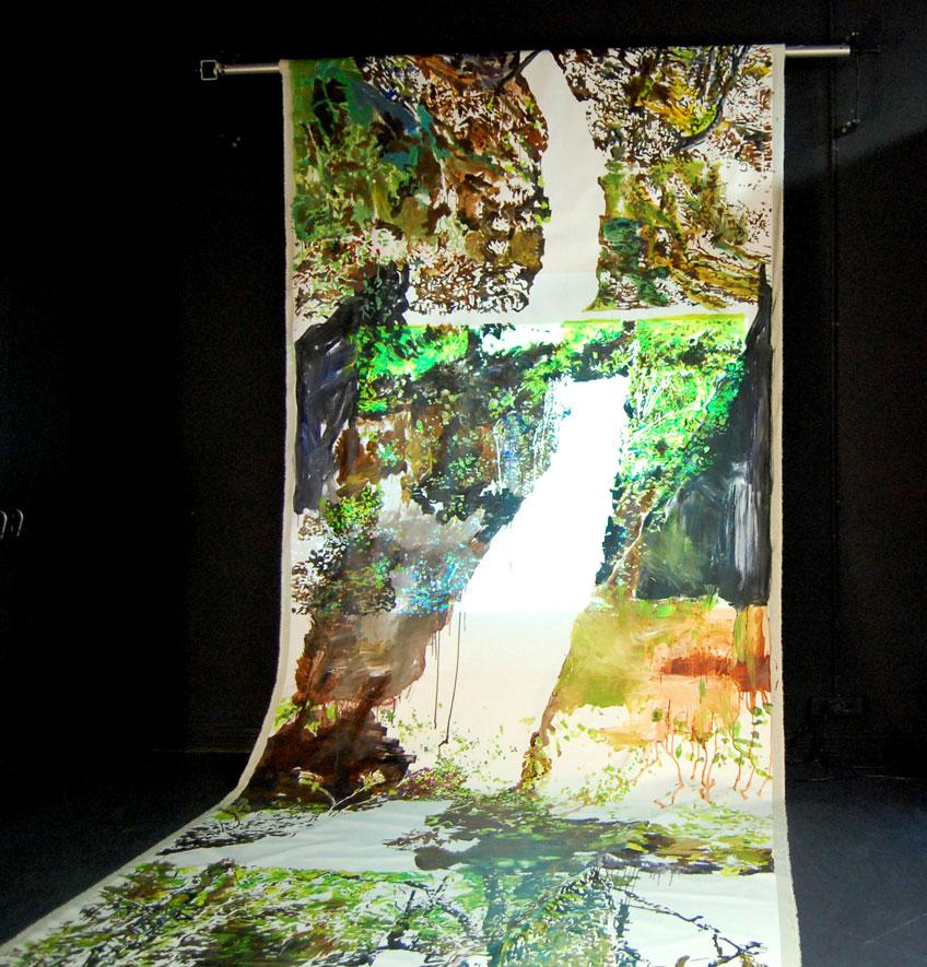Veva Linaza. Proyecto Gerizpean. BilbaoArte 2013
