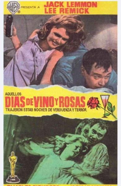 Días de vino y rosas. Blake Edwards