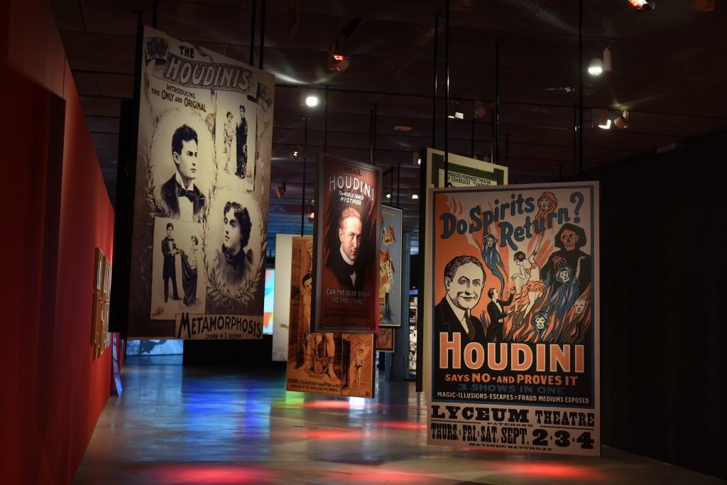 Houdini, las leyes del asombro. Espacio Fundación Telefónica