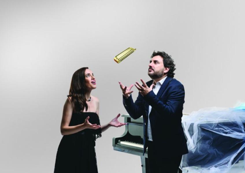 Antonio Serrano y Constanza Lechner