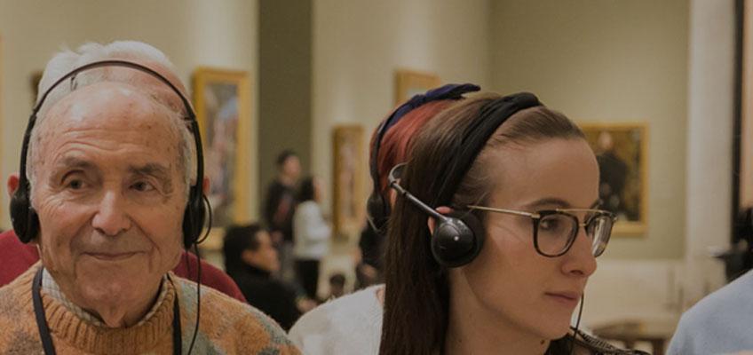 Actividades por la diversidad. Museo del Prado