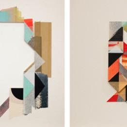 Anna Taratiel. 06+Z (serie díptico), 2013. Cis Art