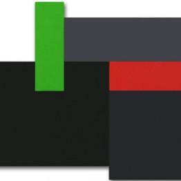 Carlos Evangelista. Rectángulo verde, 2011. Galería de Arte Kreisler