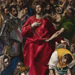 El Greco. El expolio, 1577-1579