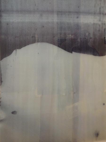Rubén Tortosa  Print of Print XI. Imágen digital transferida sobre poliuretano, 118x82cm.