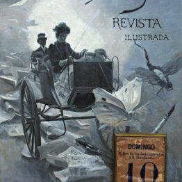 Audio: portada del primer número de la revista Blanco y Negro (Ángel Díaz Huertas)