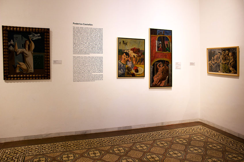 Audio Museo de Arte Doña Pakyta. Obra: Guerra y paz, de Federico Castellón