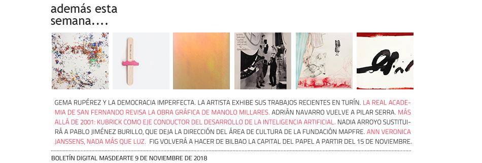 Noticias y la actualidad del arte en masdearte.com