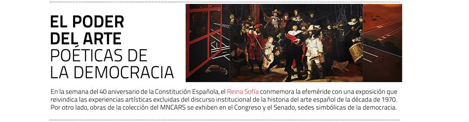"""""""Poéticas de la democracia. Imágenes y contraimágenes de la  Transición"""". Museo Reina Sofía, hasta el 25 de noviembre de 2019"""