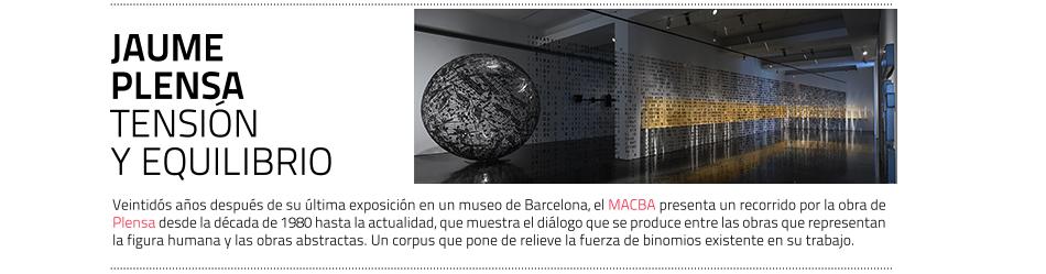 Exposición de Jaume Plensa en el MACBA. Hasta abril de 2019