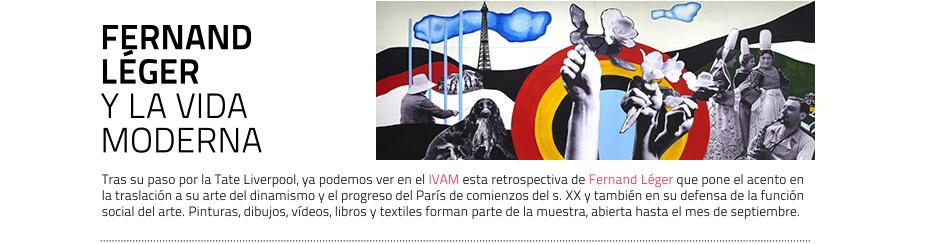 Fernand Léger. Retrospectiva en el IVAM