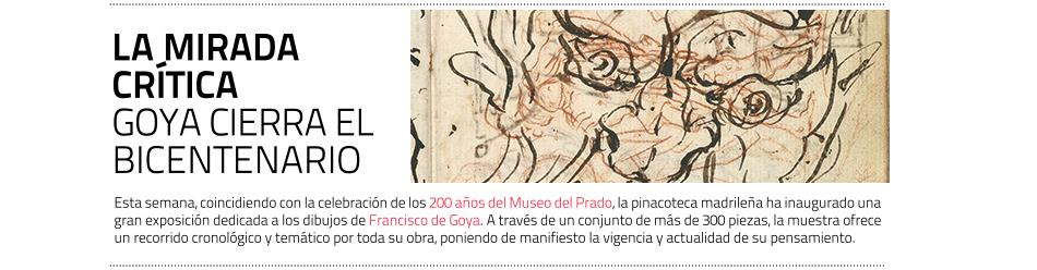 Los dibujos de Goya, última exposición del Bicentenario del Museo del Prado