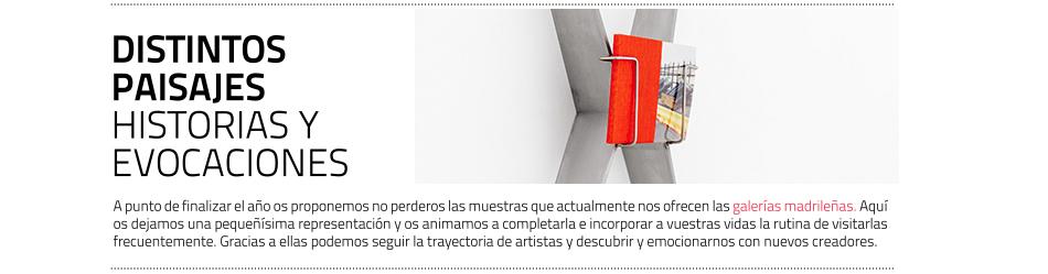 Algunas exposiciones recomendadas en galerías madrileñas
