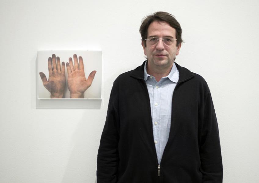 Ignasi Aballí. Fotografía: Luis Asín
