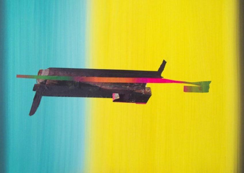 """Enrique Larroy. """"Horizontes basura"""" en la Galería A del Arte"""