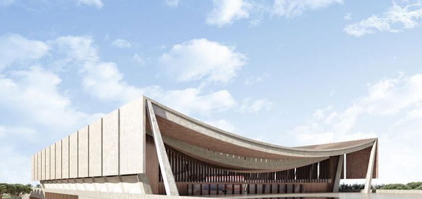 David Adjaye. Catedral Nacional de Ghana. Adjaye Associates