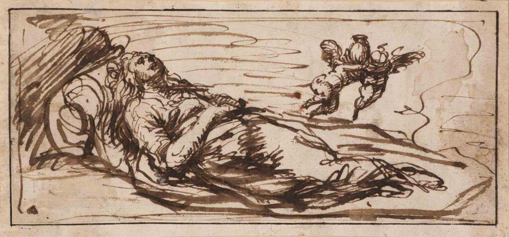 Alonso Cano. La muerte de María Magdalena, hacia 1645-1650. Meadows Museum, SMU, Dallas. Adquisición del museo con la financiación de la Meadows Foundation. Foto: Kevin Todora