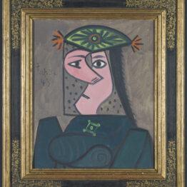 Buste de Femme 43, de Picasso, depositado en el Prado