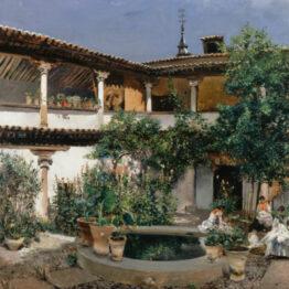 Americanos en España, pintura y viaje