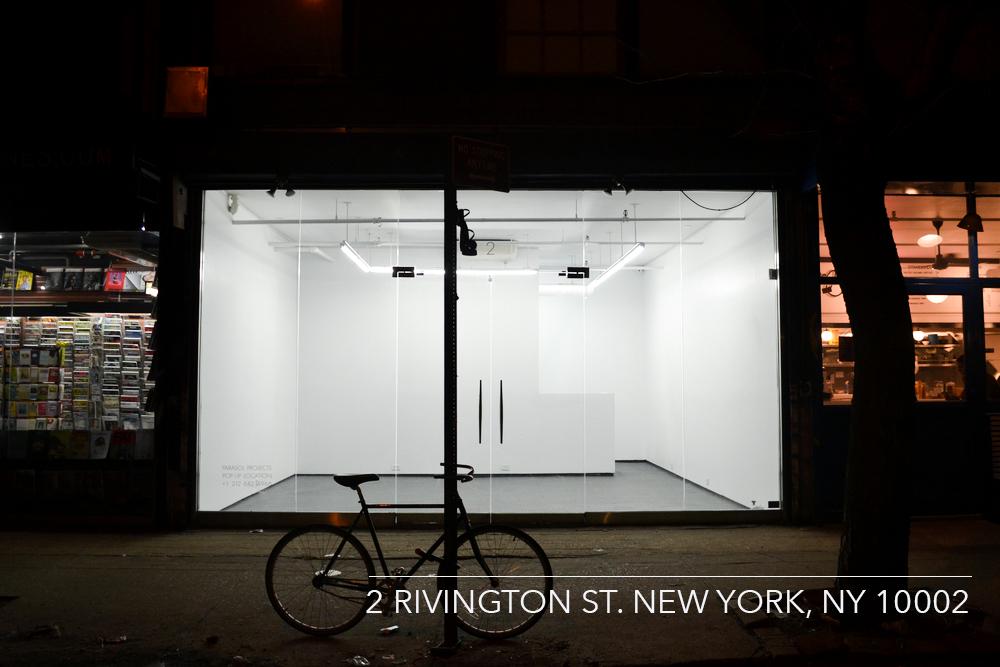 Espacio que ocupará la Galería Moisés Pérez de Albéniz en el 2 de Rivington Street
