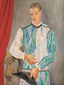Pablo Picasso. Arlequín, 1917. Museu Picasso