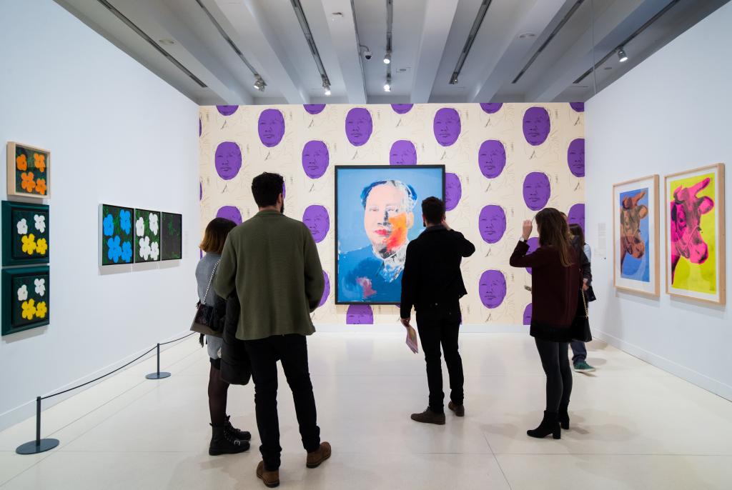 """""""Warhol. El arte mecánico"""" en CaixaForum Madrid"""