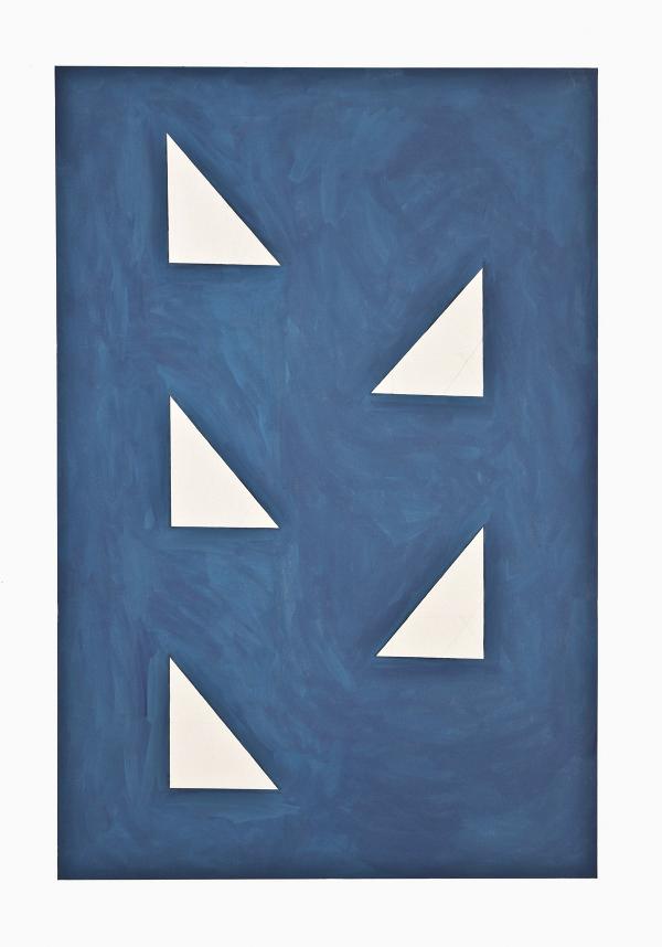 Camila Oliveira Fairclough.Bad Blue (Volpi), 2012