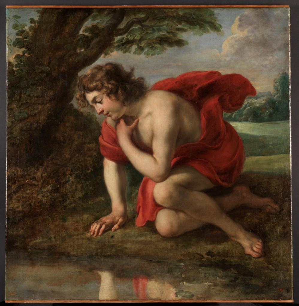 Jan Cossiers. Narciso, 1636-1638. Museo Nacional del Prado