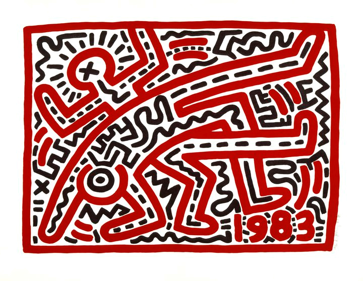 Keith Haring. Untitled, 1983. © Keith Haring Foundation