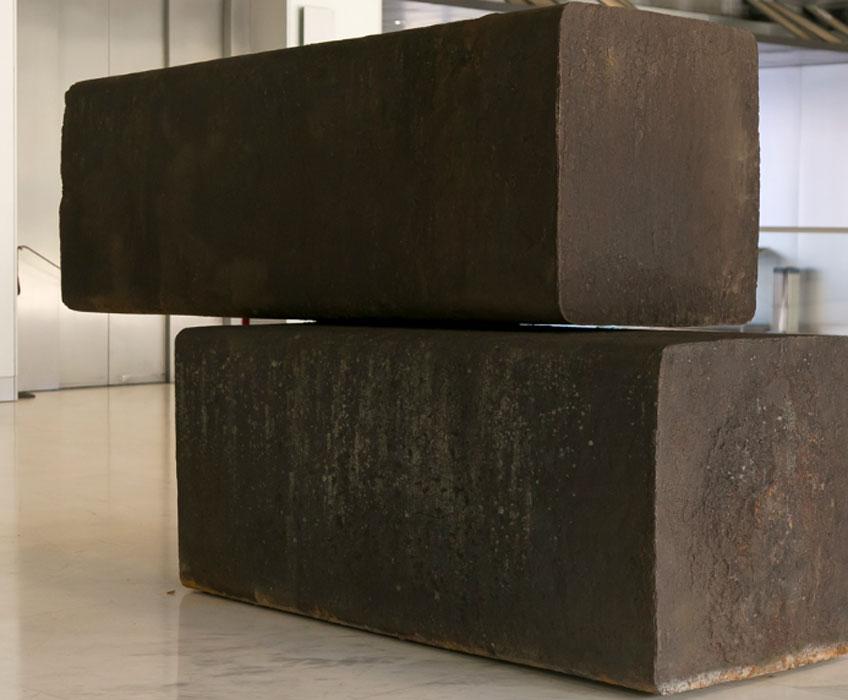Richard Serra. Bilbao, 1983. Museo de Bellas Artes de Bilbao