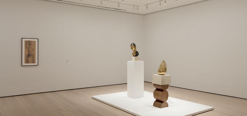 """Constantin Brancusi Sculpture"" en el MoMA"