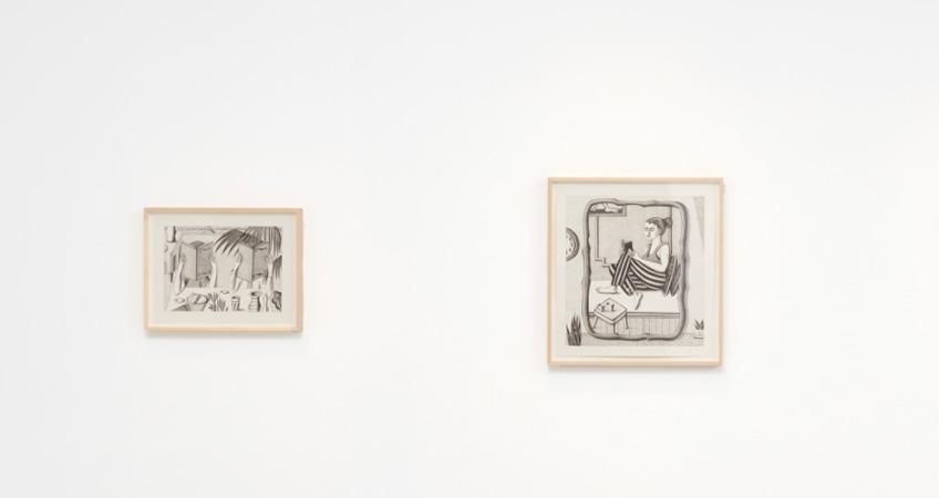 """""""Drawings: Jonathan Gardner"""". Casey Kaplan Gallery"""