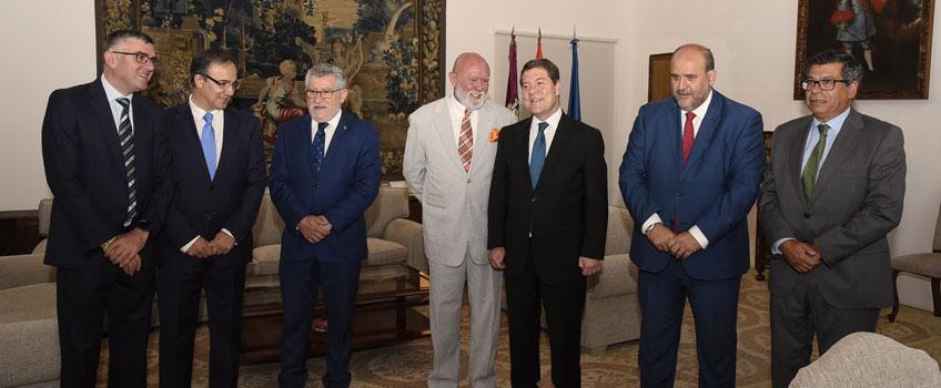 Firma del protocolo de cesión de parte de la Colección Polo a la Junta de Castilla-La Mancha