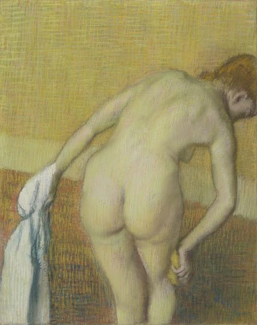 Edgar Degas. Mujer en el baño, hacia 1886. Van Gogh Museum