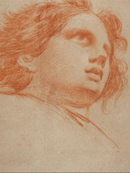 Francisco de Goya. Cabeza de ángel, 1772. Museo Nacional del Prado