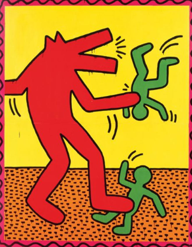 Keith Haring. Untitled, 1982 © Keith Haring Foundation