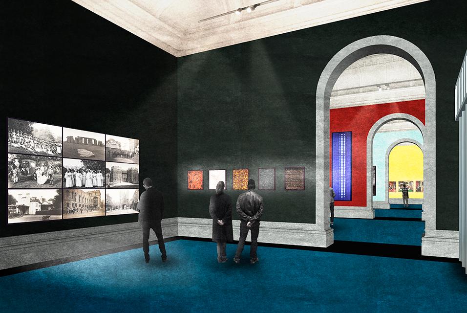 David Kohn Architects. Recreación del futuro Victoria & Albert Photography Center