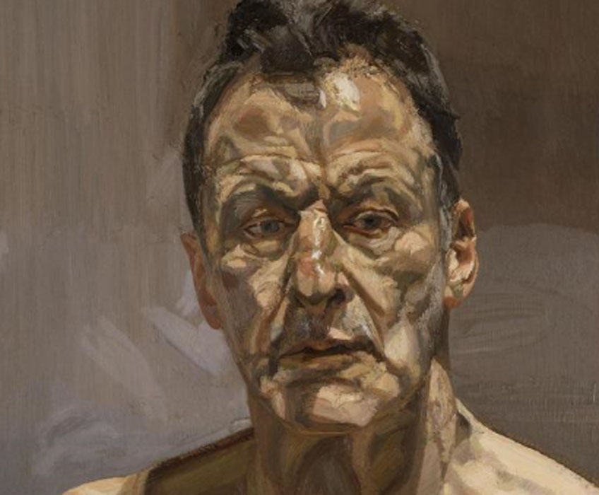 Lucian Freud. Reflection (Self.portrait), 1985. Colección privada