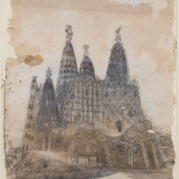 Dos dibujos de Gaudí para el Museu Nacional d'Art de Catalunya