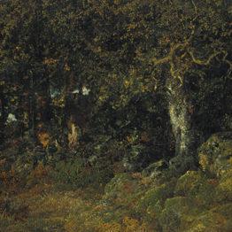 Le chêne de roche, de Rousseau, para la Glyptotek de Copenhague