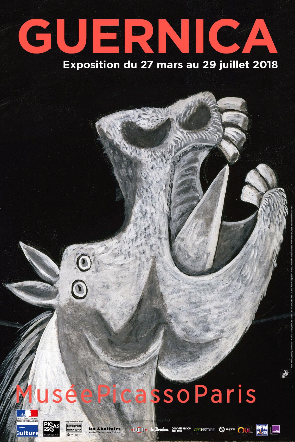 """Guernica"" en el Musée National Picasso"