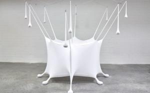 Ernesto Neto. Burbuja blanca, 2017. Museo Guggenheim Bilbao