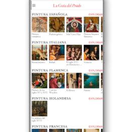 El Museo Nacional del Prado presenta su primera Guía Oficial para smartphones